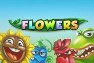 Flowers video slot machine