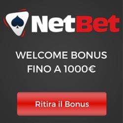 NetBet Bonus casinò